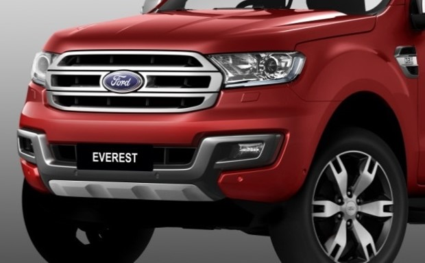 ford everest front lower trim bumper. for ambente and trend variants only.