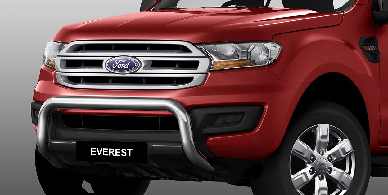 ford everest nudge bar