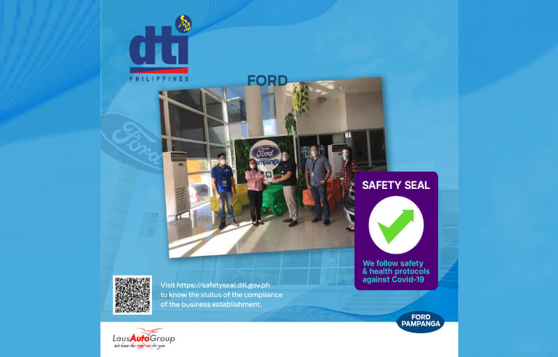 Ford Pampanga's Safety Seal