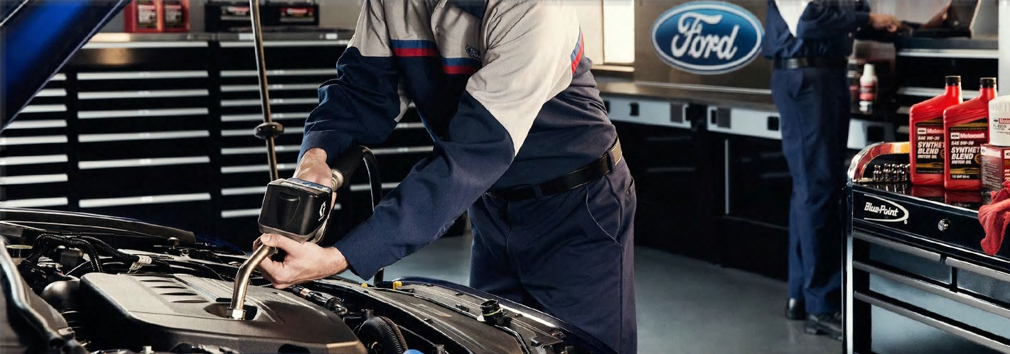 Qualified Ford technicians