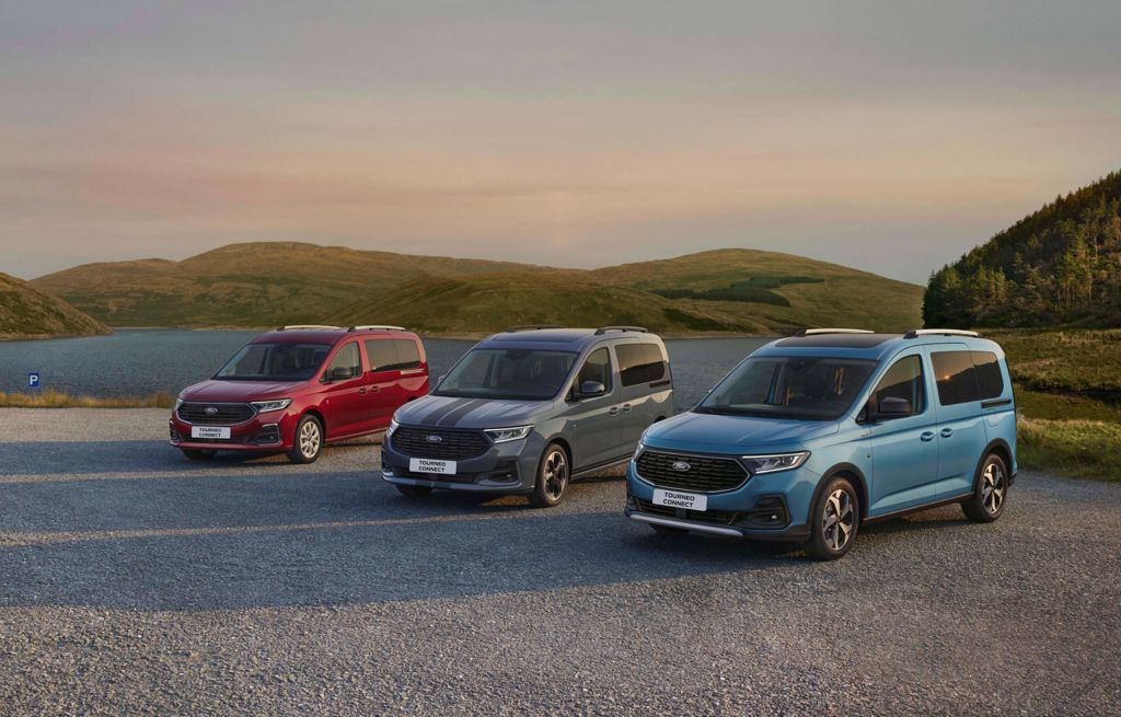 Nowy Ford Tourneo Connect