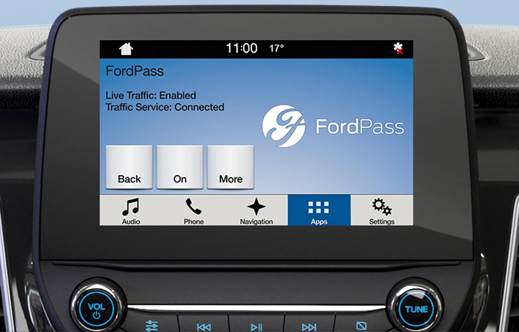 Ford SYNC 3 z funkcją Wzywania pomocy