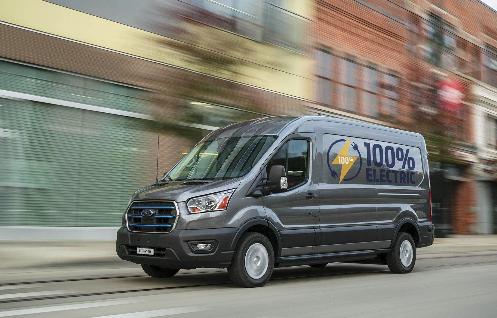 Nowy Ford Transit Custom Plug-in Hybrid