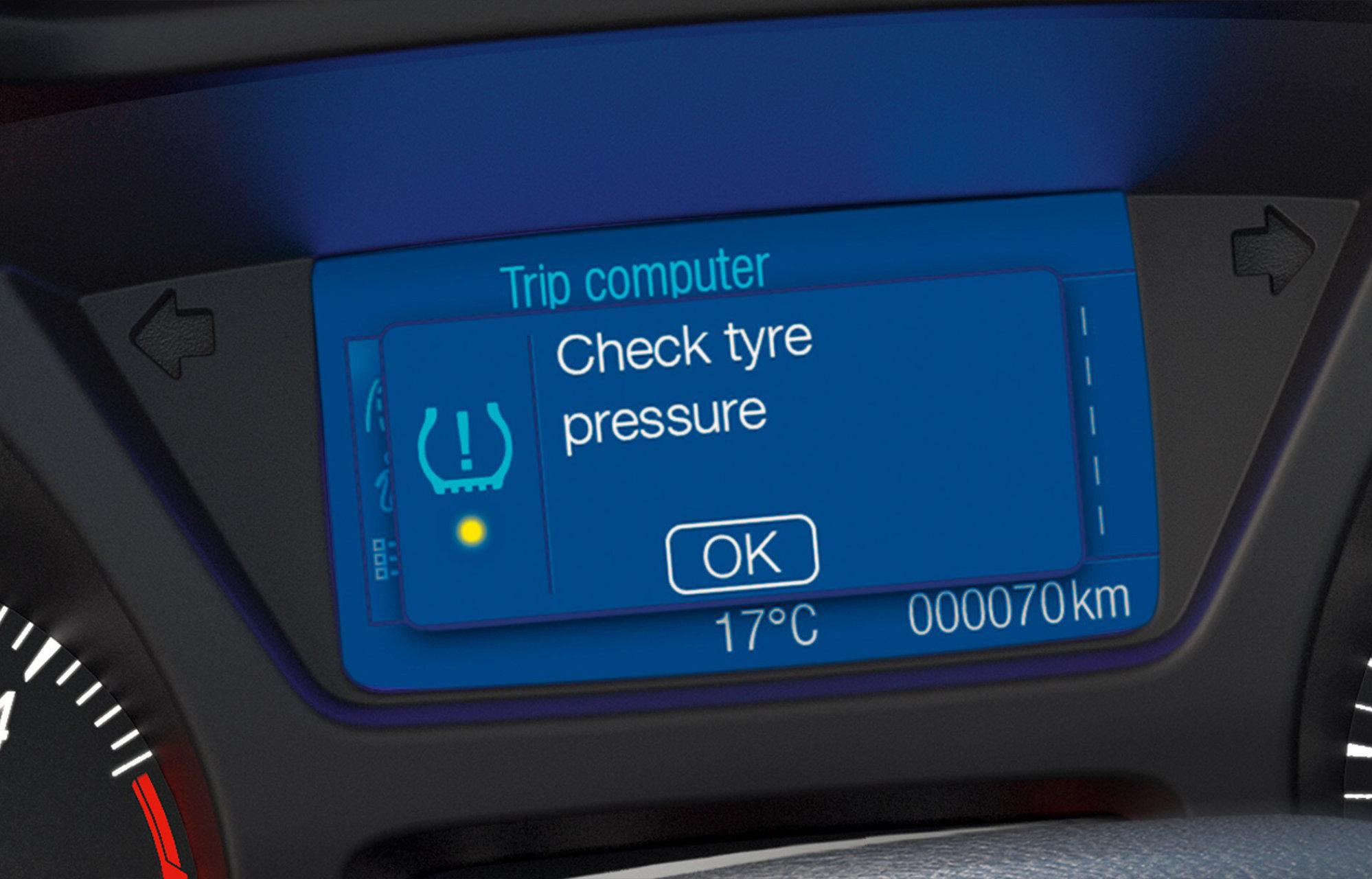 System monitorowania ciśnienia w oponach (TPMS)