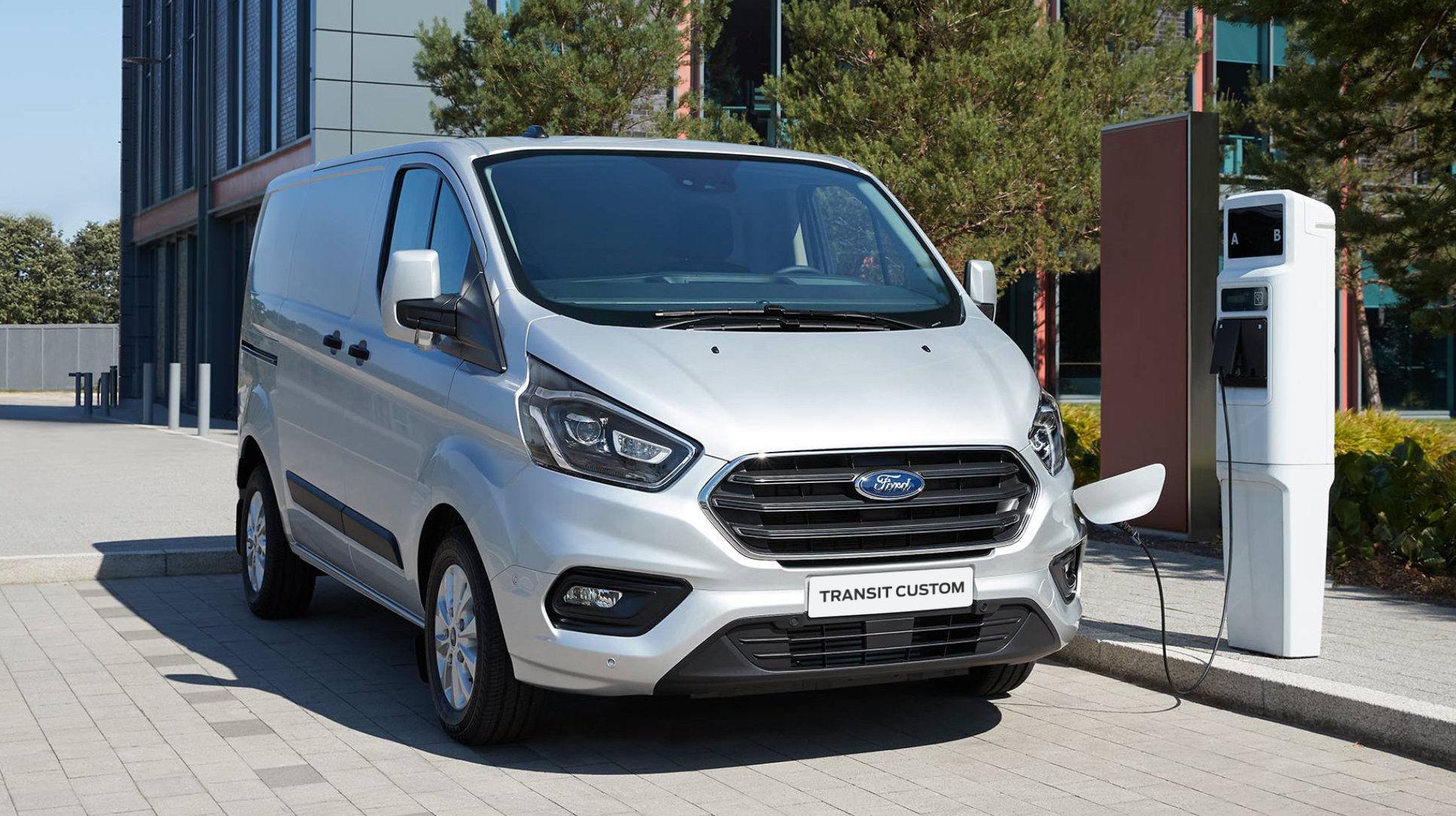 Nowy Ford Transit Custom Plug-in Hybrid