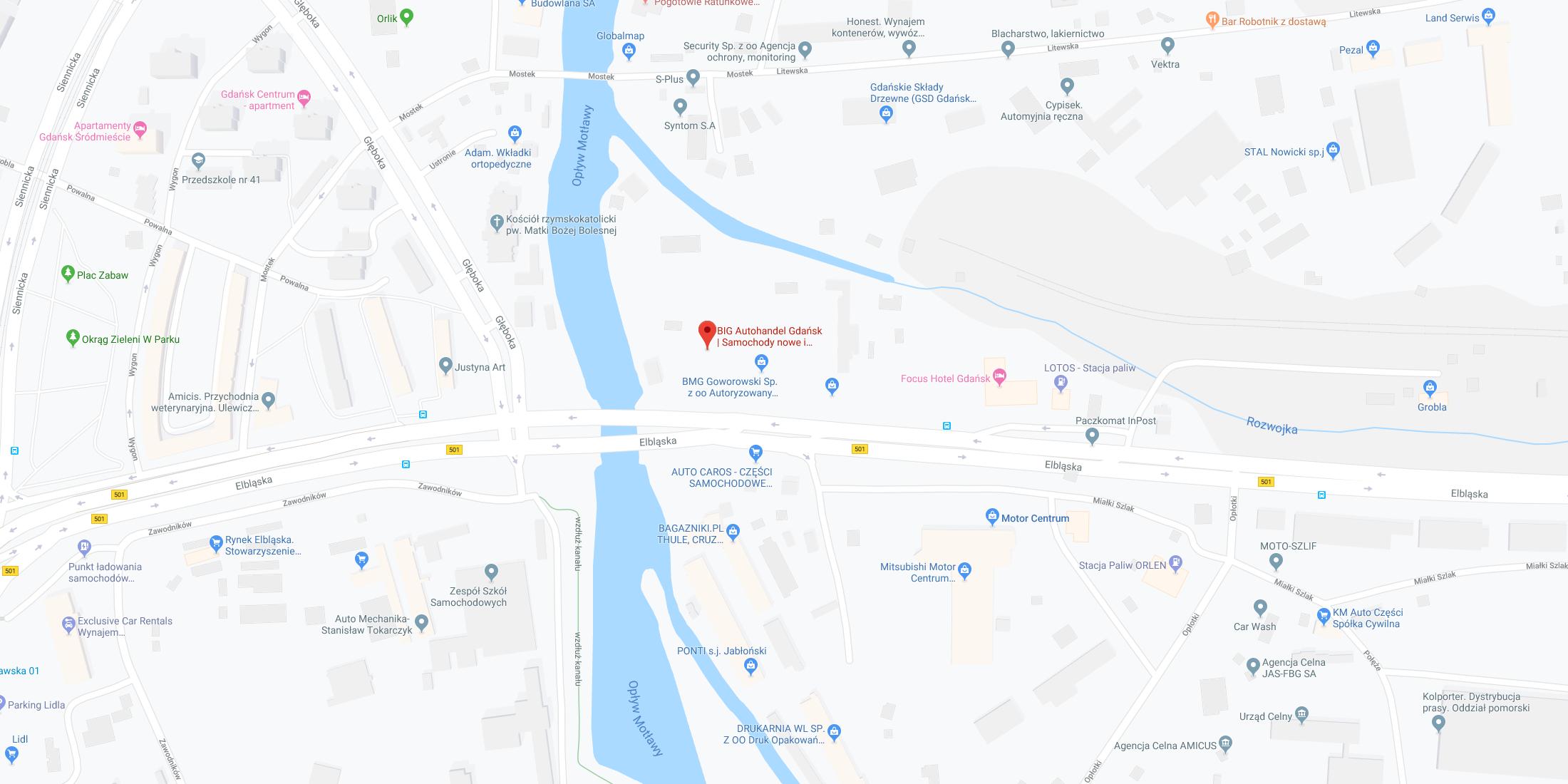Gdańsk, ul. Elbląska 79B
