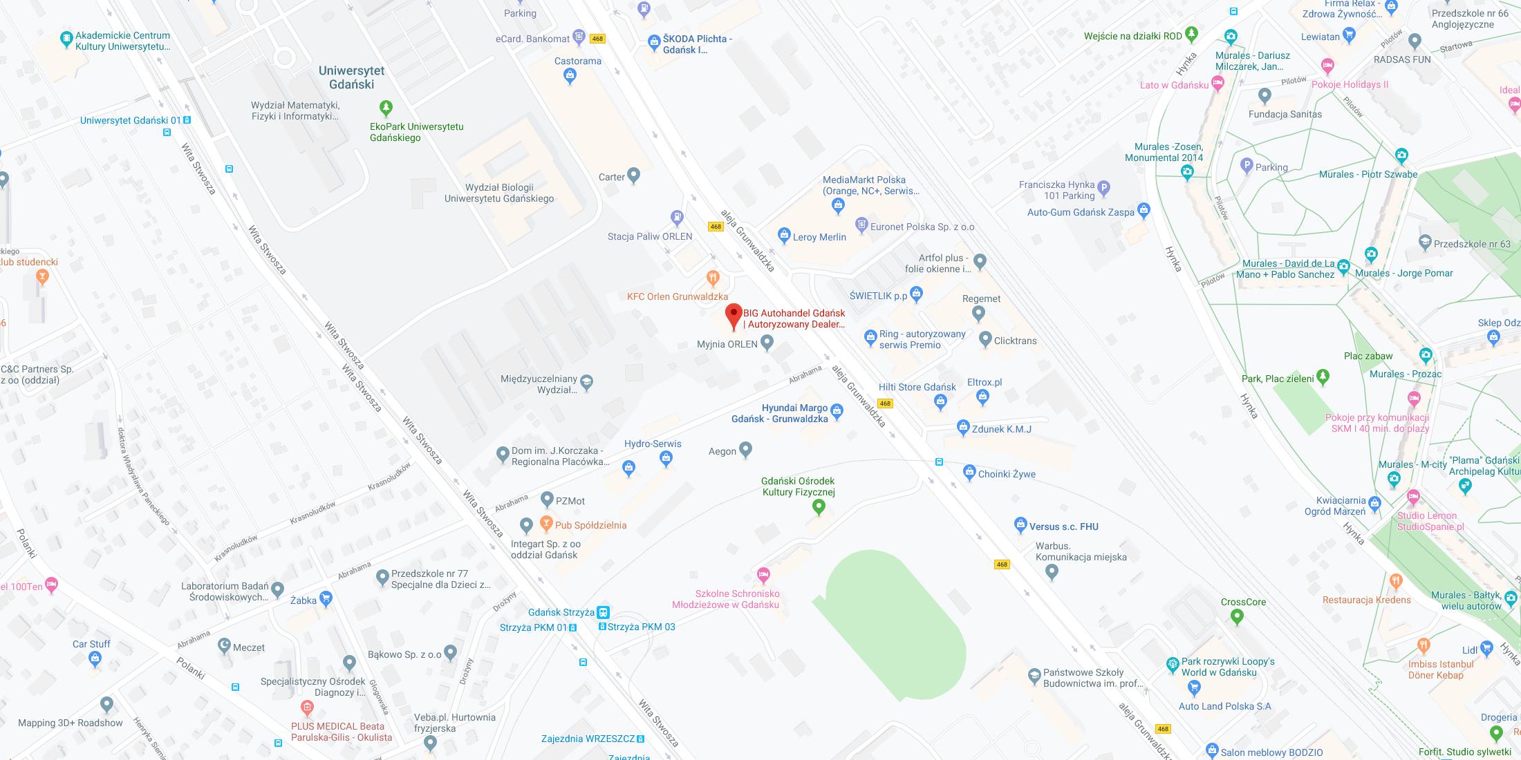 Gdańsk, ul. Grunwaldzka 256