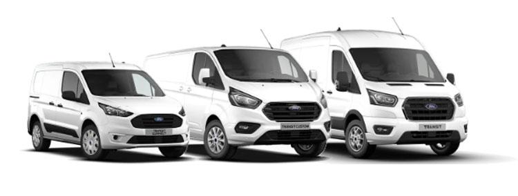 Samochody dostawcze Ford Transit