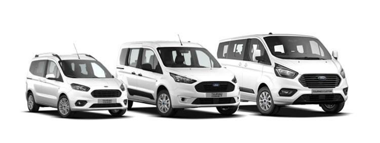 Samochody osobowe Ford Tourneo