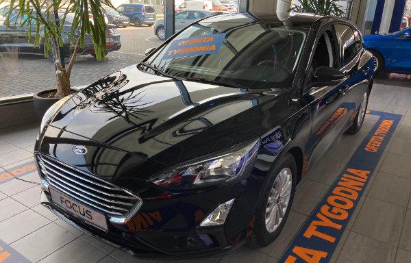 Ford Focus Titanium - przód (Bielsko-Biała)