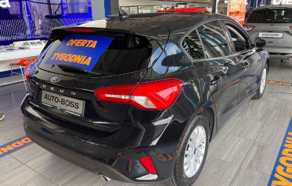 Ford Focus Titanium - tył (Bielsko-Biała)
