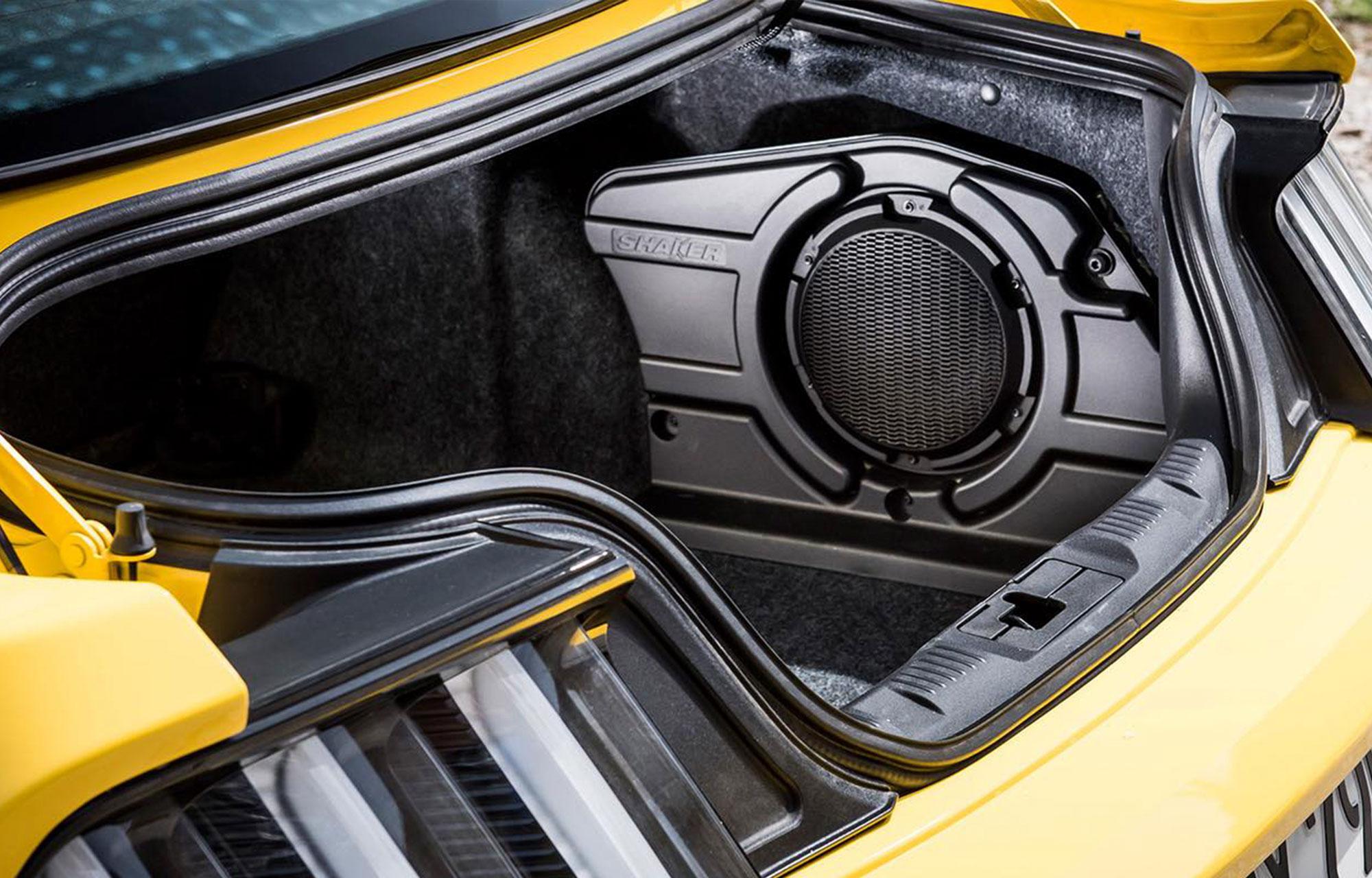 Ford Mustang - Ett mäktigt ljudsystem