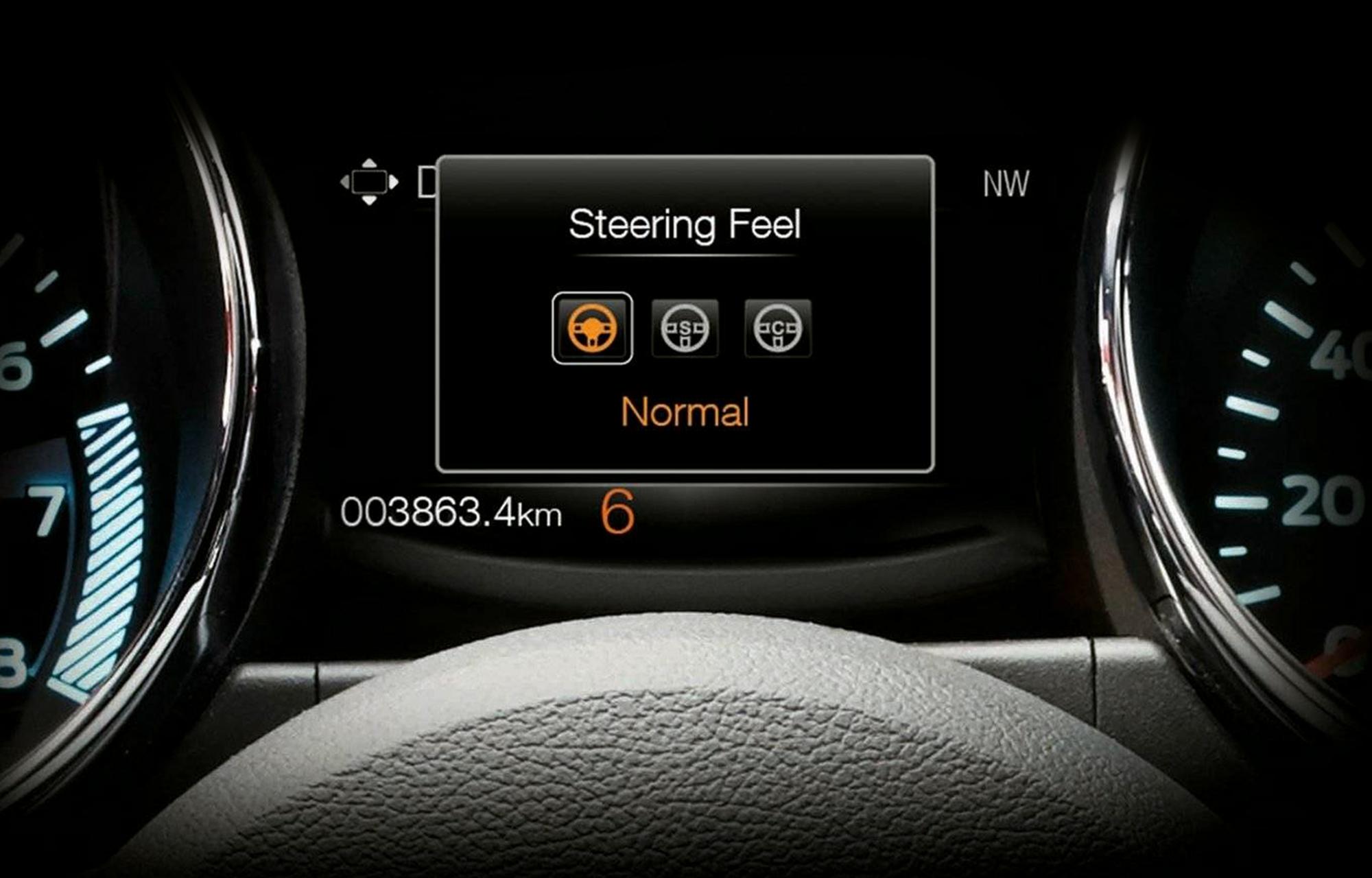 Ford Mustang Styrning