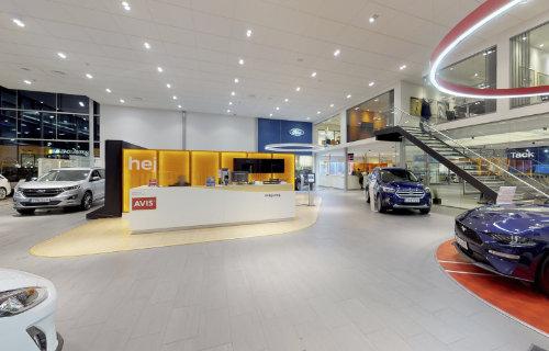 Virtuell rundtur på FordStore i Halmstad