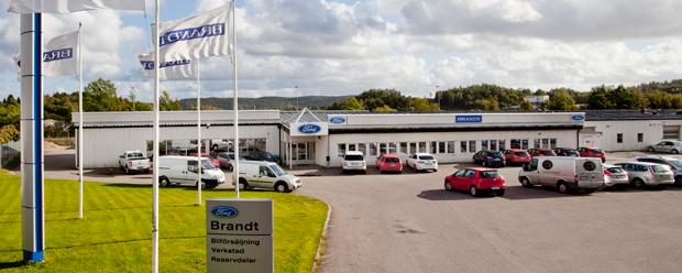 Brandt Fordon, din lokala Ford återförsäljare i Uddevalla