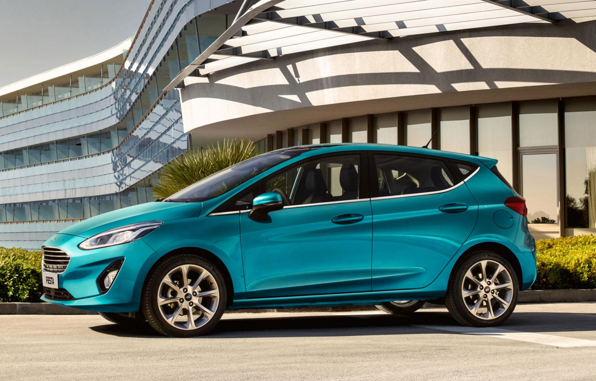 Nya Ford Fiesta Titanium