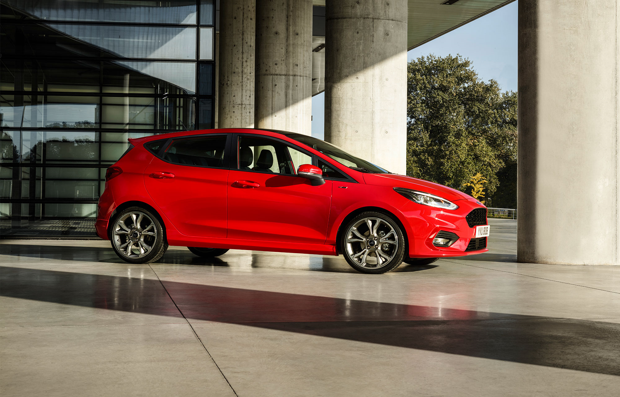 Nya Ford Fiesta ST-line