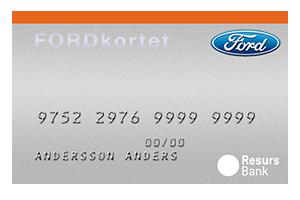 Fordkortet Mastercard