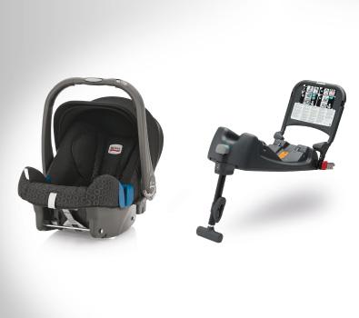 ชุดเบาะนั่งเด็ก Britax BABY-SAFE plus SHR II ติดตั้งพร้อมกับ ISOFIX Base (แรกเกิด – 13 kg หรือ 15 เดือน)