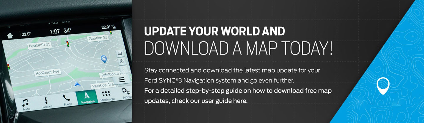 SYNC Map Update